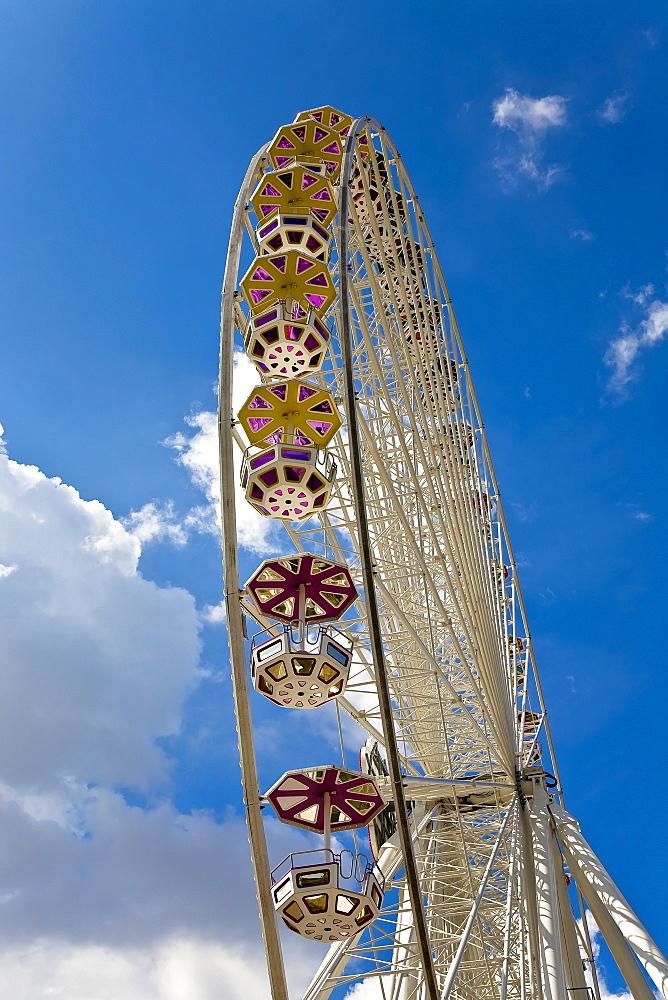 Floral wheel in the Viennese Prater Vienna Austria