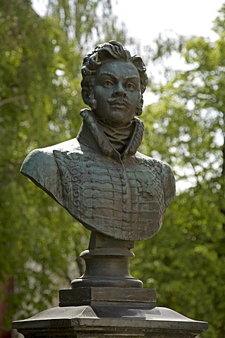 New Maiden Monastery, Bust of a grave, Moscow, Russia, East Europe, Europe
