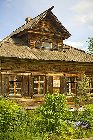 Old timber building, Suzdal, Russia