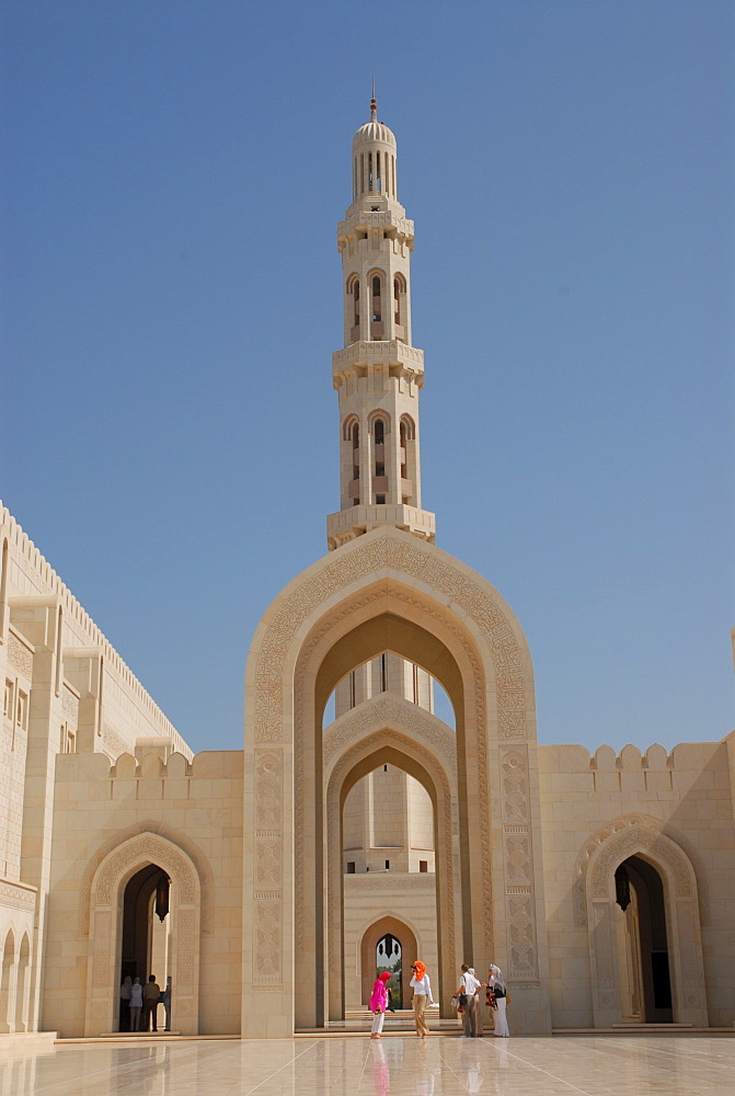 Sultan Kaboos mosque (Great Mosque), Muscat, Oman