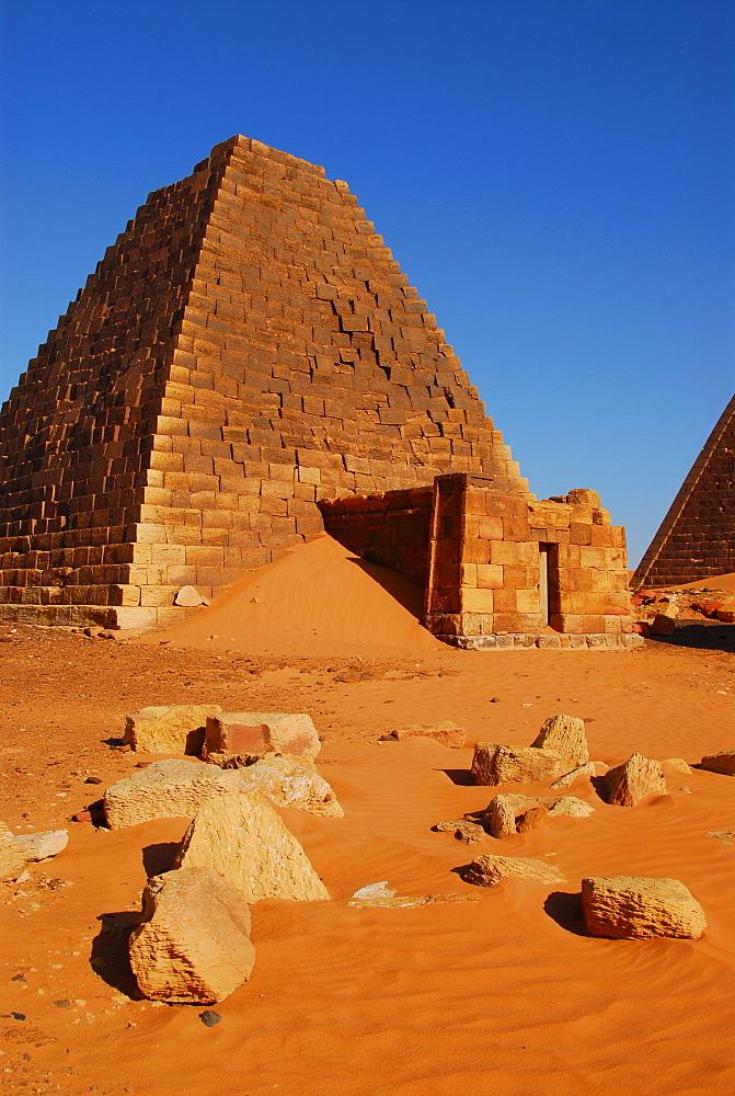 Pyramids, Meroe, Sudan, Africa