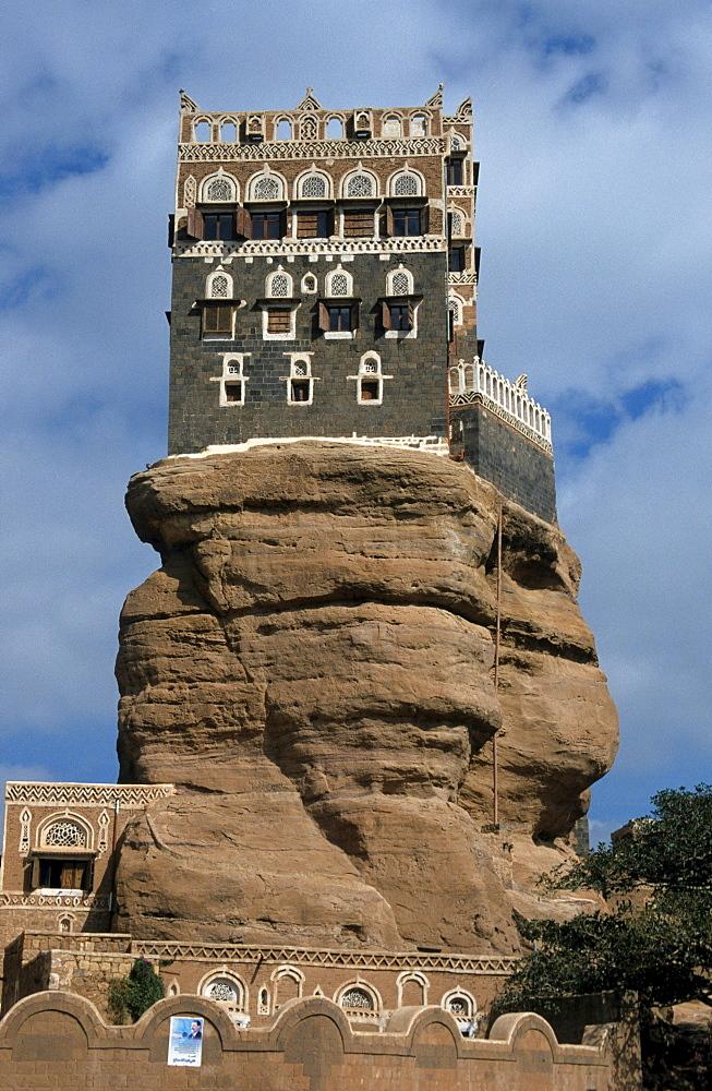 Imam's Palace, Wadi Dhar, Yemen, Middle East