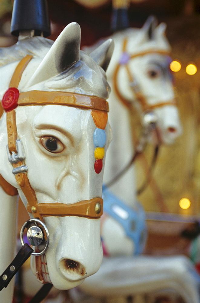 Horses, merry-go-round