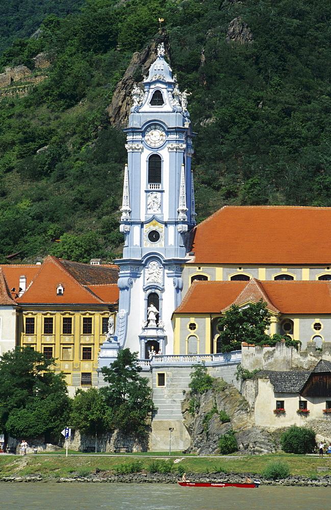 Village Duernstein at Danube River, Austria, Lower Austria, Wachau Region
