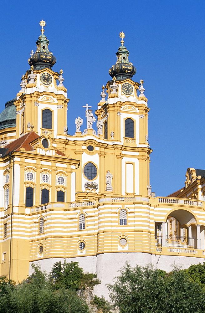 Convent Melk, Austria, Lower Austria, Wachau Region, Melk