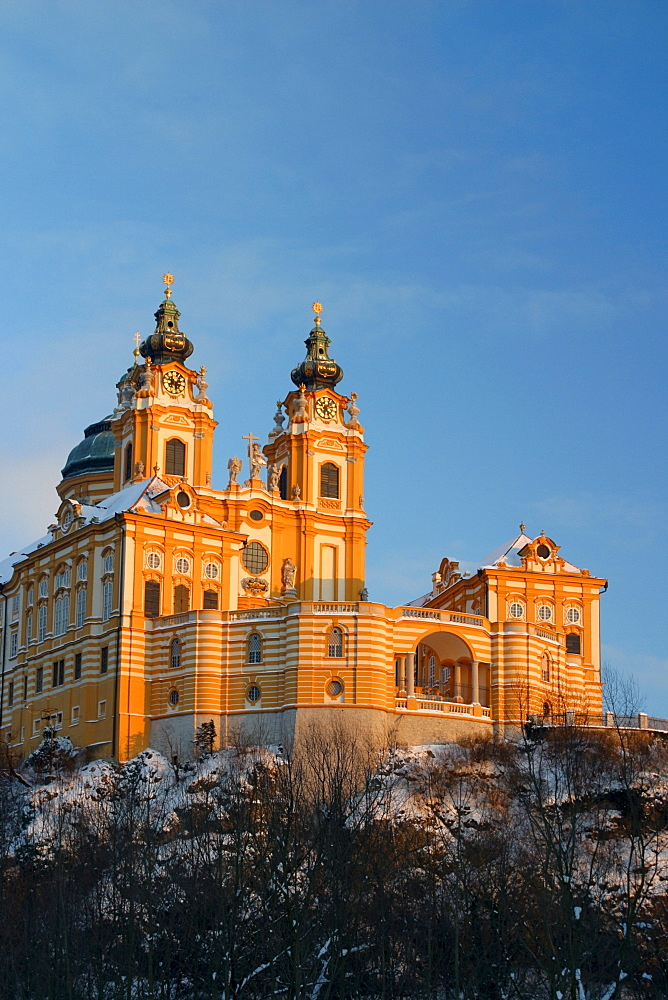Convent Melk, Wachau Region, Lower Austria, Austria