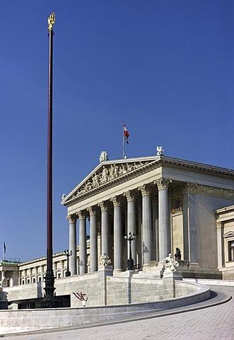 Parliament in Vienna, Austria, Europe