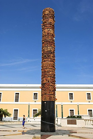 Monument to the discovery of America, San Juan, Puerto Rico