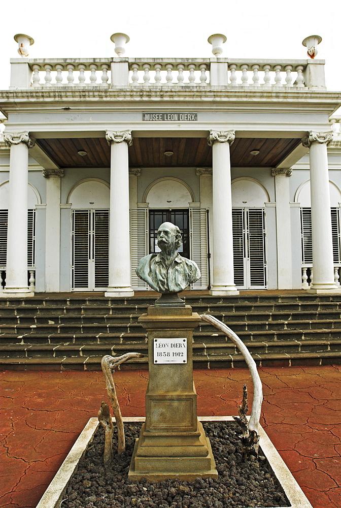 Museum of poet Leon Dierx in the capital St. Denis, La Reunion Island, France, Africa