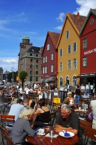 Bryggen, the old dock area of Bergen, Norway