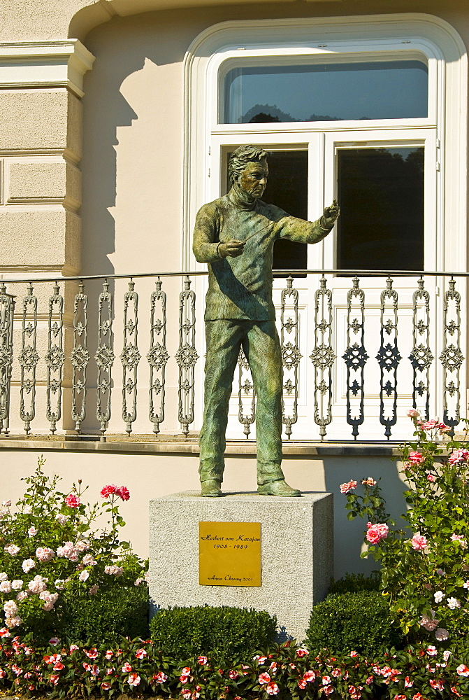 Herbert von Karajan Memorial, Salzburg, Austria