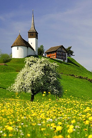 Chapel St. Johann, Altendorf, Switzerland
