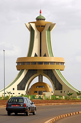 Memorial to the Martyrs, Ouagadougou, Burkina Faso, Africa