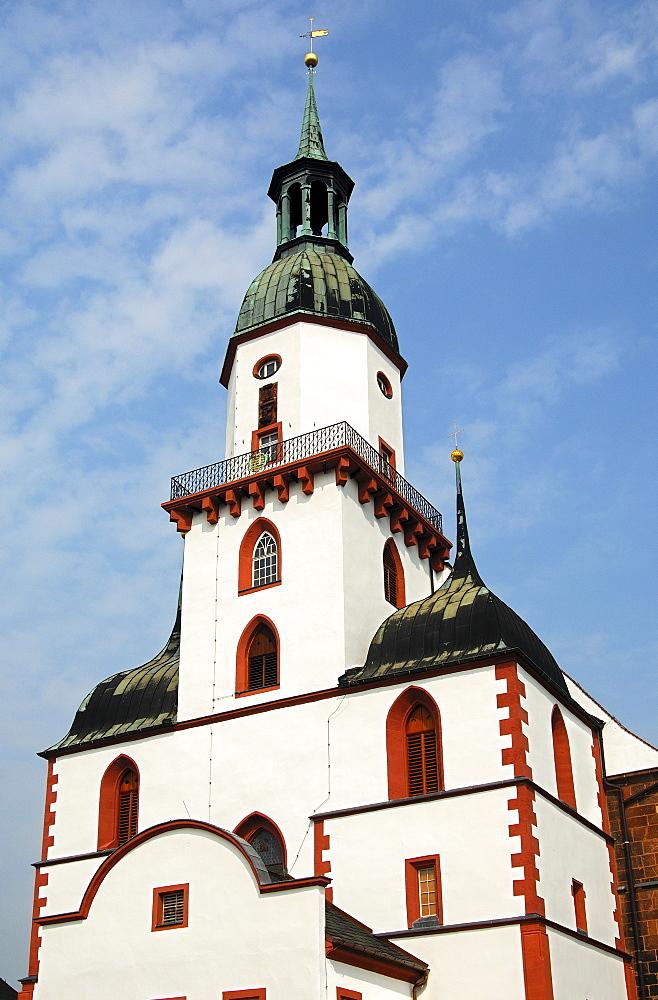 Church St Kunigundenkirche Rochlitz, Saxony, Germany