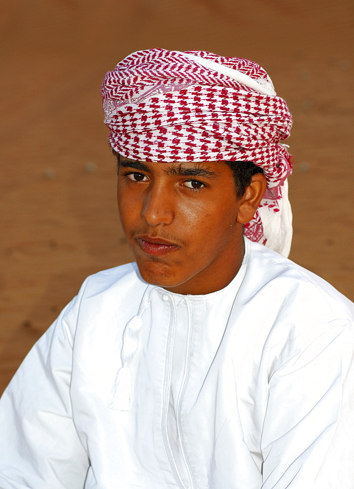 Omani boy, Sultanate of Oman, Middle East