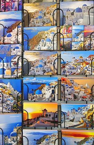 Postcards, Cyclades, Greece, Europe