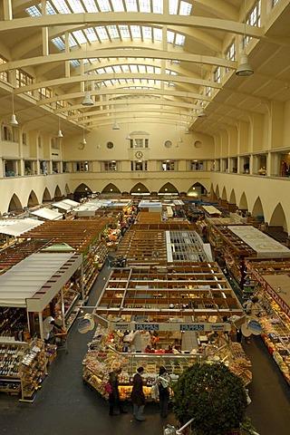 Market hall (Markthalle), Stuttgart, Baden-Wuerttemberg, Germany, Europe
