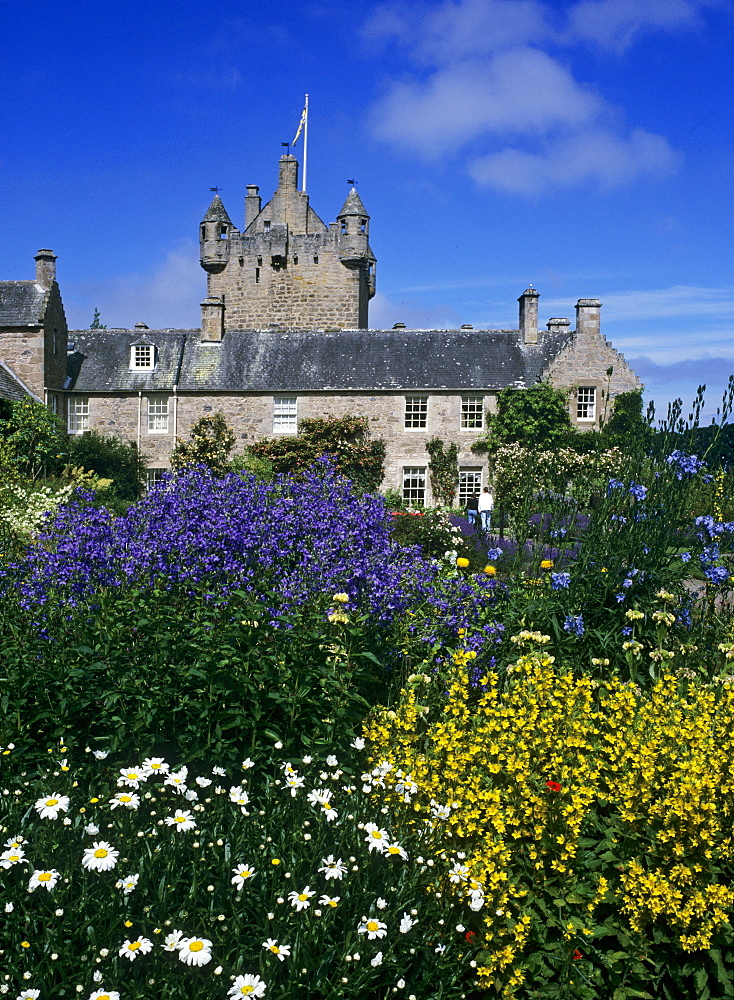 Cawdor Castle and its gardens, northeast of Inverness, Scotland, UK, Europe