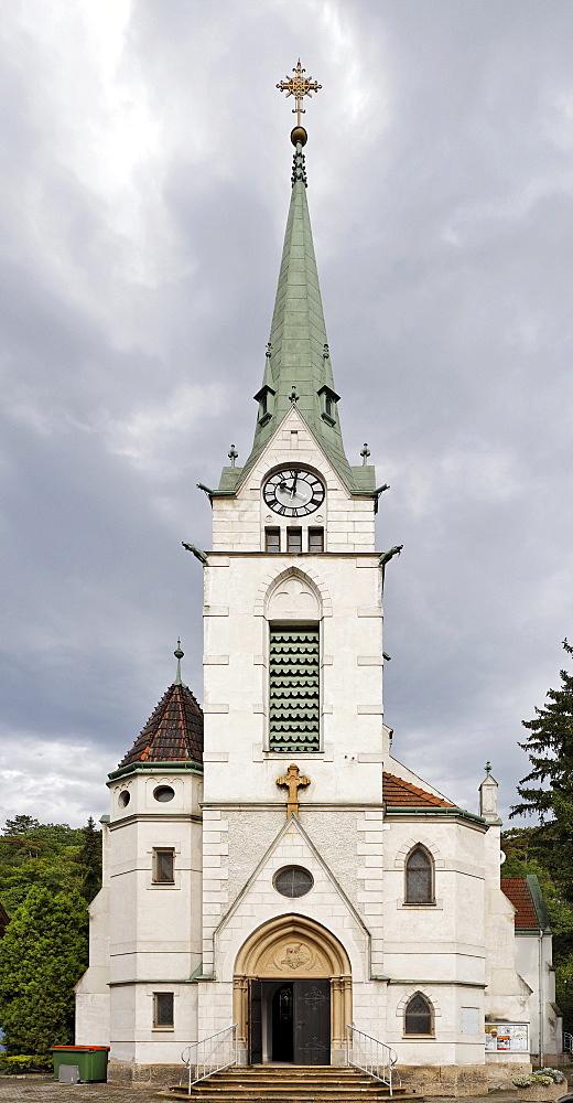Church in Hirtenberg, Triesingtal (Triesing Valley), Lower Austria, Austria, Europe