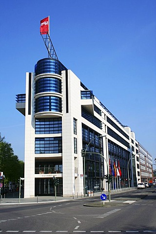 Willy-Brandt-Haus, headquarters of the Social Democratic Party, Berlin, Germany