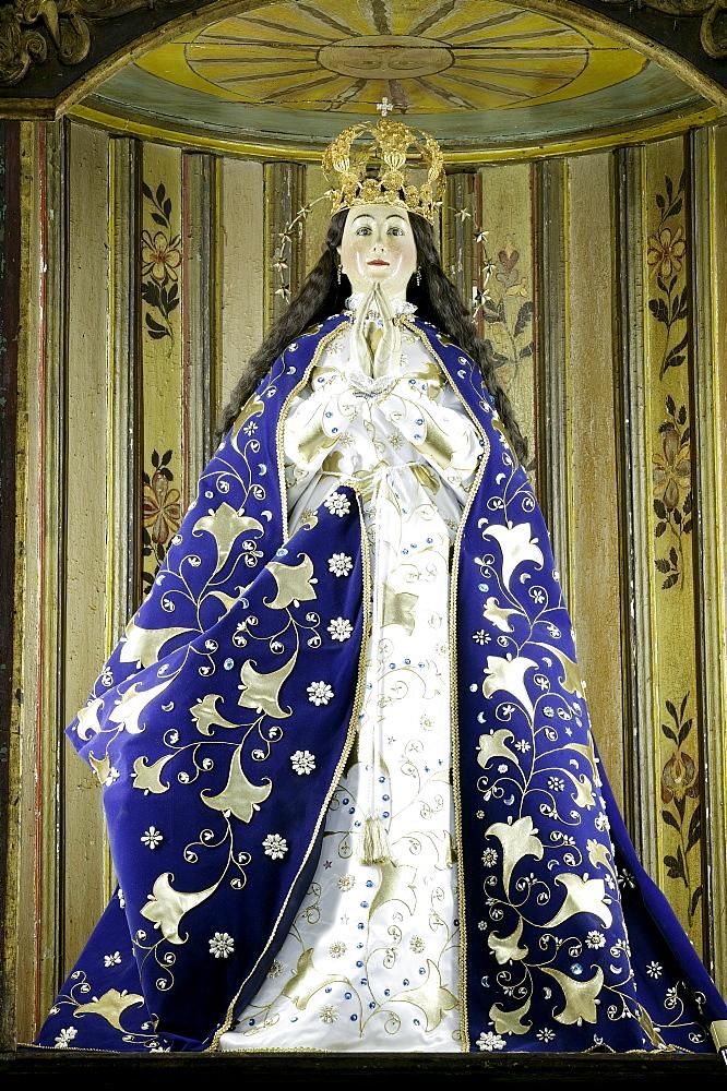 Madonna Franciscan church Tobati Paraguay South America