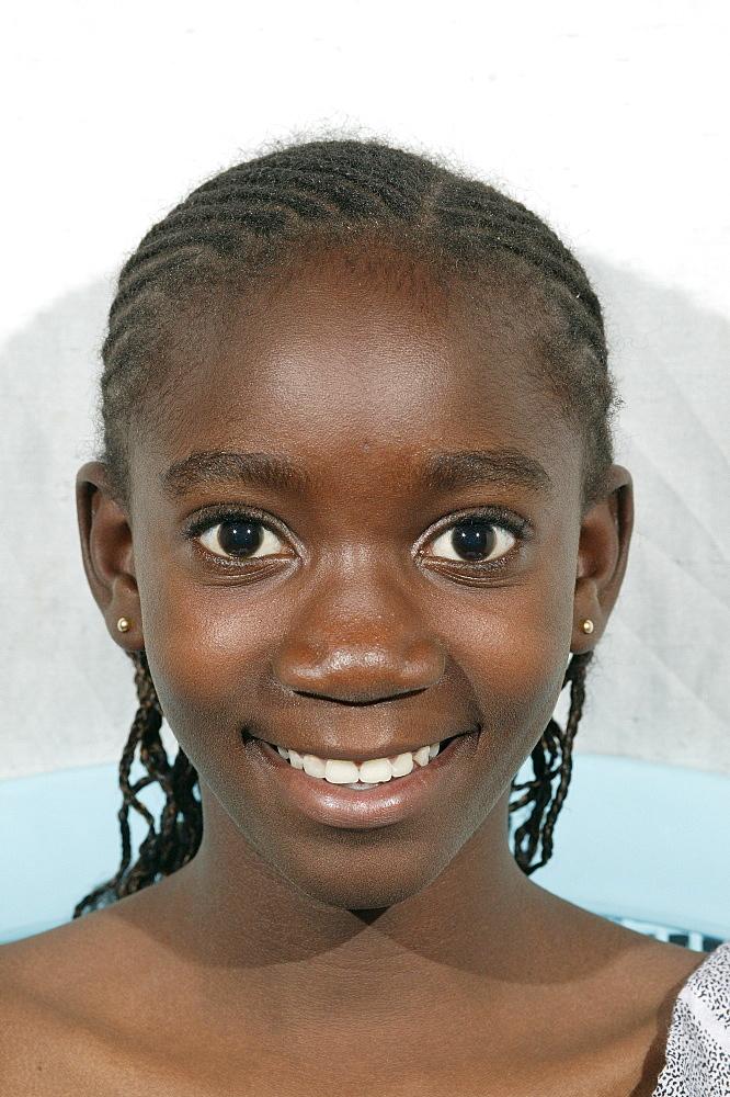 Girl, portrait, Garoua, Cameroon, Africa