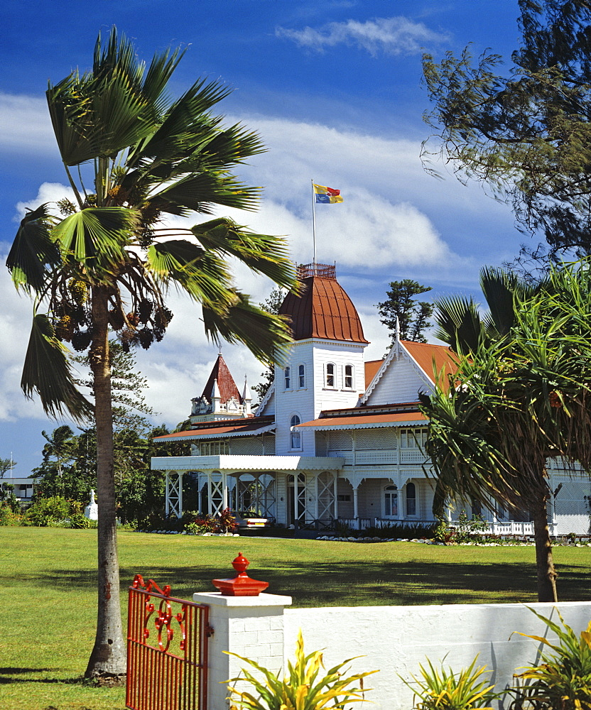 Royal Palace on Nuku Alofa, Tonga, South Pacific, Oceania