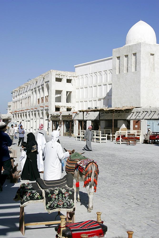 Qatar, Doha, main Souk, Souq Waqif