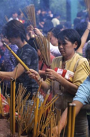 SikSikYuan temple in Wong Tai Sin, Kowloon, Hongkong, China