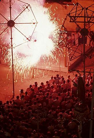 Festa, Fireworks in Tarxien, Malta