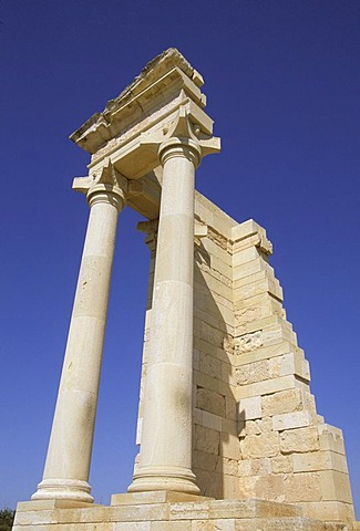 Apollo temple, Hylates, Kourion, Cyprus