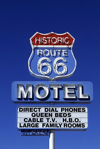 USA, United States of America, Arizona: Historic Route 66, near Seligman.