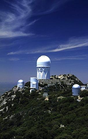 USA, United States of America, Arizona: Kitt Peak National Observatory south of Tucson.