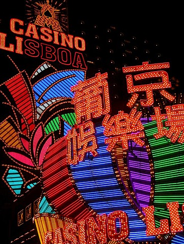 "MAC, Macau: Macau wants to be the new Vegas. Casinos as the ""Lisboa"" have been there for decades; now the West's gambling companies are trying to stake their claims."