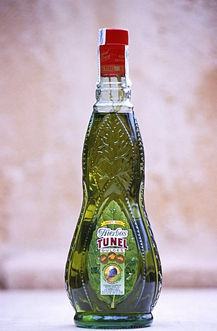 ESP, Spain, Balearic Islands, Mallorca : a speciality from Mallorca, a herb-flavored liqueur called Hierbas.