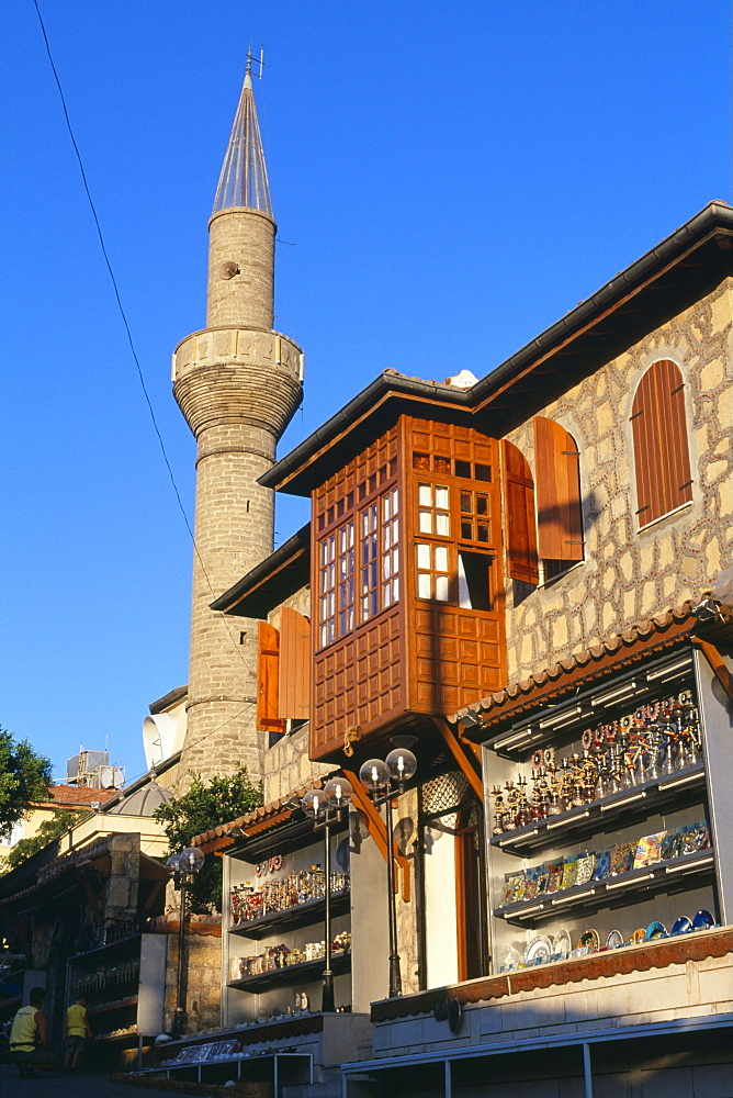 Mosque, Side, Turkish Riviera, Turkey