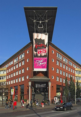 Neue Flora musical theatre in Hamburg, Germany