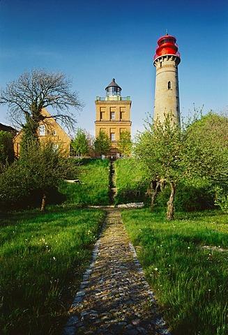 Lighthouses Kap Arkona, Island Rugen,  Mecklenburg-Western Pomerania, Germany