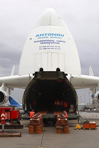 Antonow An-225, Cologne Bonn Airport, Cologne, North Rhine-Westphalia, Germany