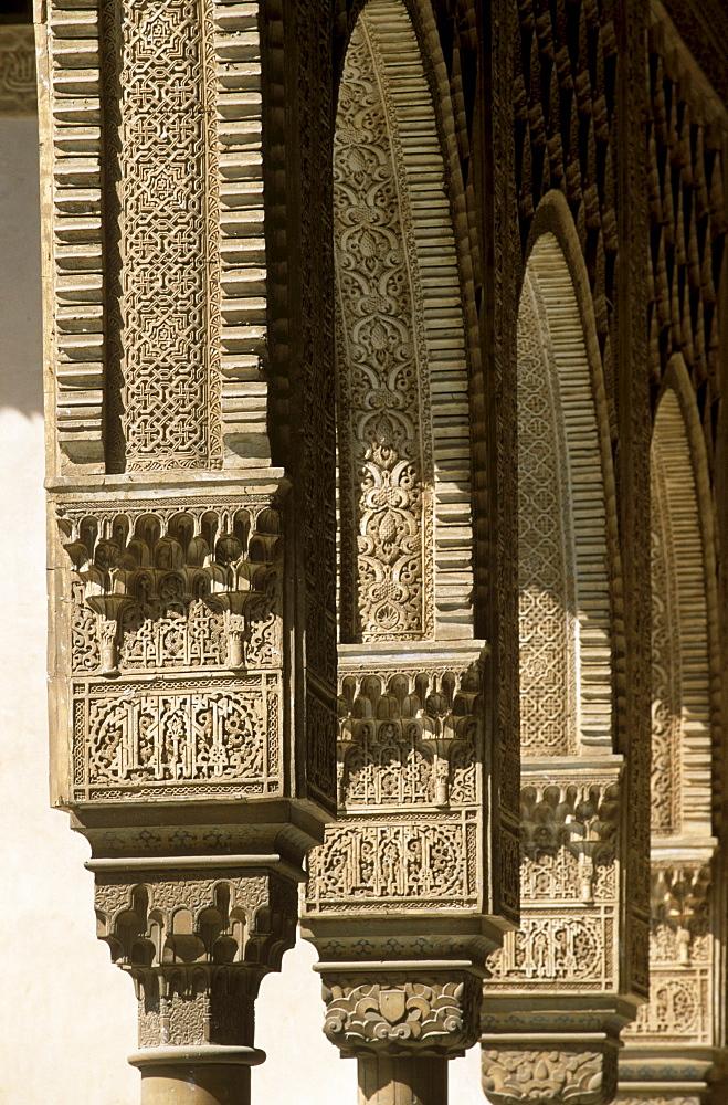 Nasrid Palace, Alhambra, Granada, Andalusia, Spain
