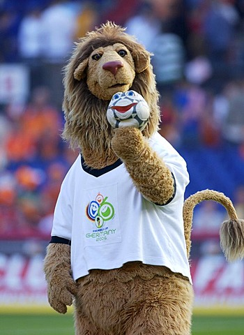 "Football Worldcup mascot ""Goleo"""