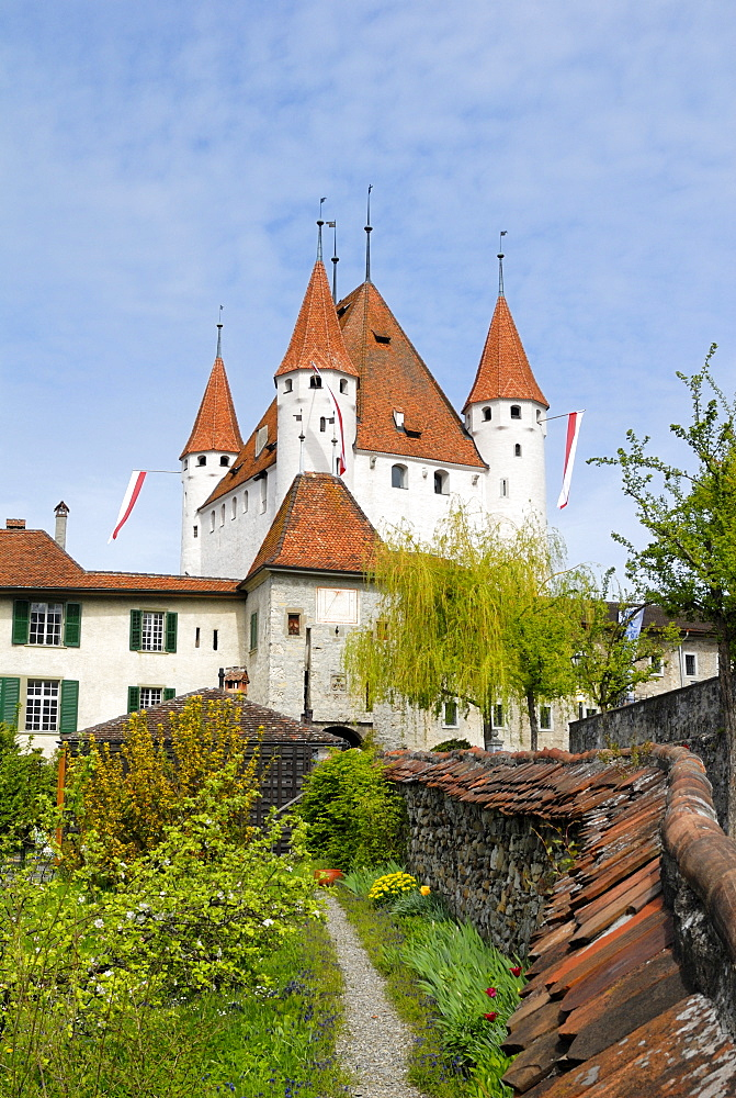Thun Castle, Thun, Canton of Berne, Switzerland, Europe
