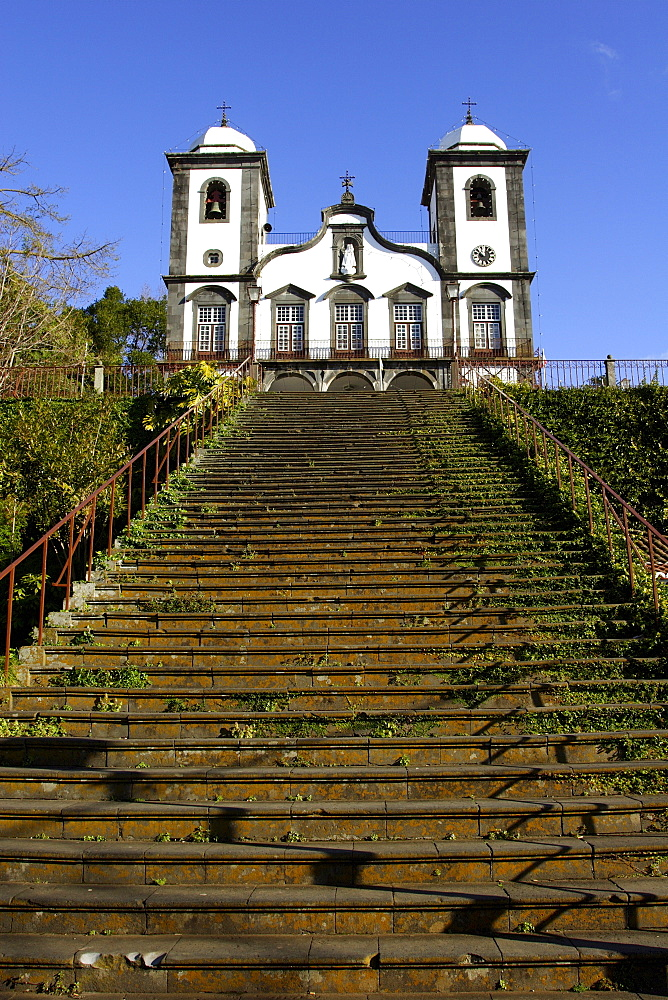 Church of pilgrimage Nossa Senhora do Monte in Monte Madeira, Portugal