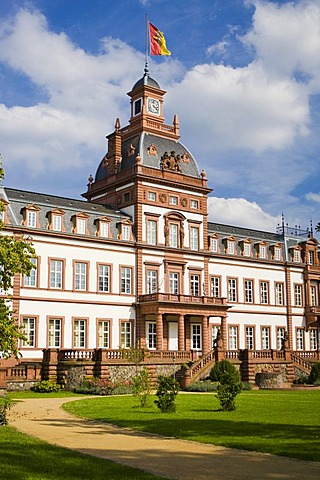 Castle Philippsruhe, Hanau, Hessen, Germany.