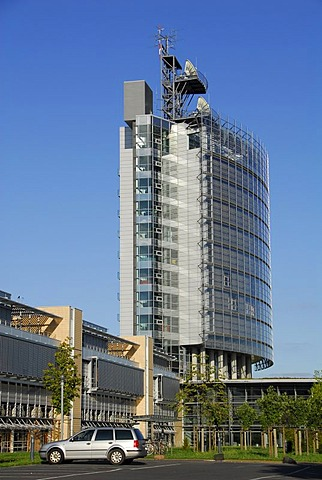 Building of the mdr, Leipzig, Saxony, Germany