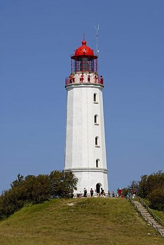 Lighthouse, Dornbusch, island Hiddensee, Mecklenburg-Western Pomerania, Germany
