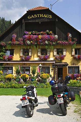 Inn in Kremsbruecke at National Park Nockberge - Carinthia - Austria
