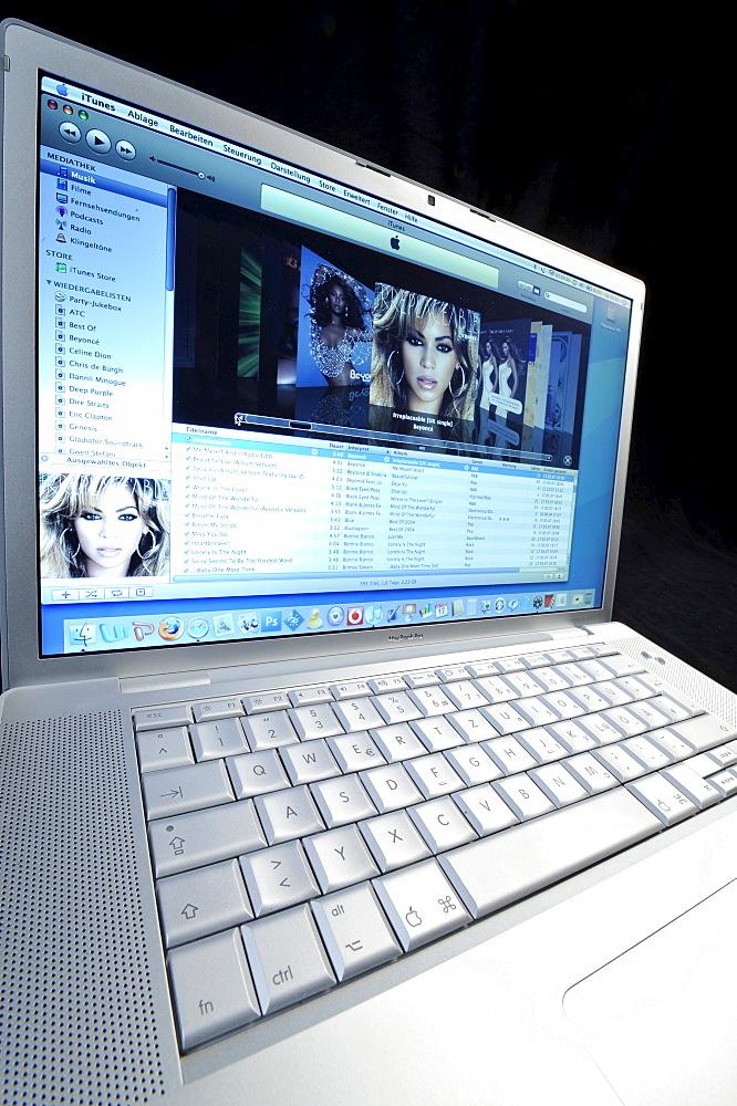 Notebook ? iTunes