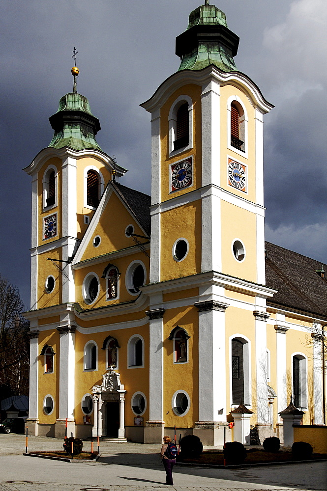 Mariae Himmelfahrt Church in St. Johann, Tirol, Austria