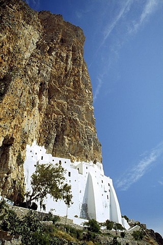 Cloister Chrysovittissa, Amorgos, Cyclades, Greece